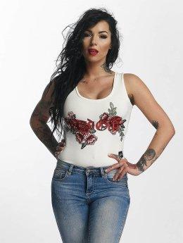 Sixth June Body Roses valkoinen