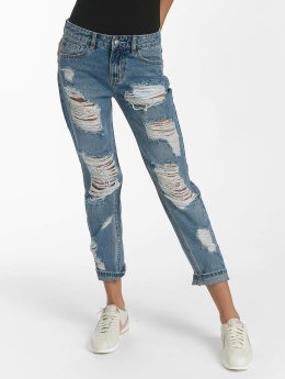 Sixth June Boyfriend jeans Mummy Destroyed blauw