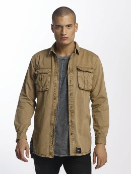 Sixth June Chemise Cargo Pocket beige