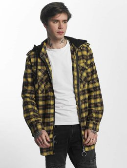 Sixth June Chemise Classic Flannel jaune