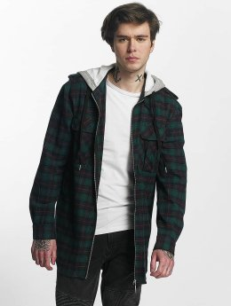 Sixth June Chemise Classic Flannel vert