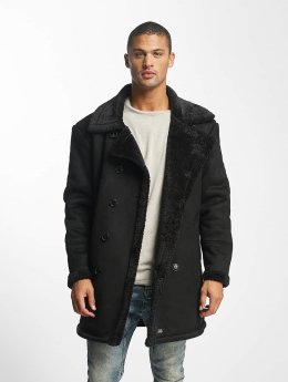 Sixth June Coats Classic Oversize Shearling black