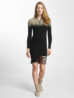 Sixth June Dress Destroyed Tight black