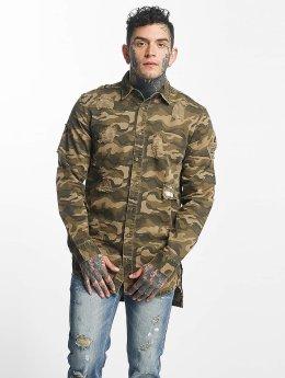 Sixth June Hemd Oversize camouflage