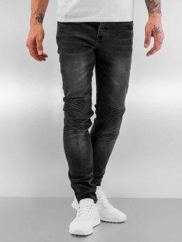 Sixth June Jeans slim fit Biker nero