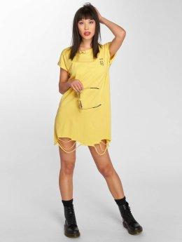 Sixth June Kleid Dress gelb