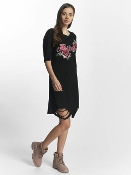 Sixth June Kleid Destroyed Roses schwarz