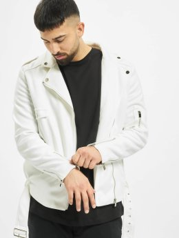 Sixth June Leather Jacket Transition white