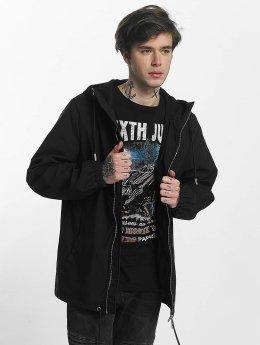 Sixth June Regular Jacket With Hood Black