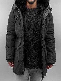 Sixth June Manteau Fur gris