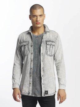 Sixth June overhemd Cargo Pocket grijs