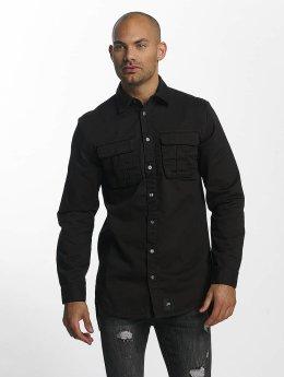 Sixth June / overhemd Classic Oversize in zwart