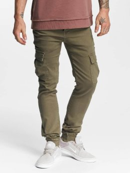 Sixth June Pantalon cargo Cargo Denim olive