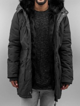 Sixth June Parka Fur grijs