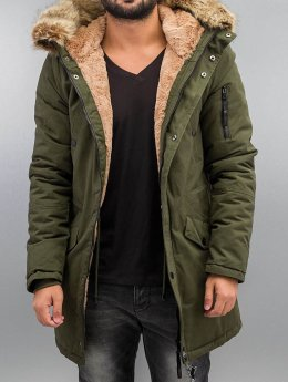 Sixth June Parka Fur khaki