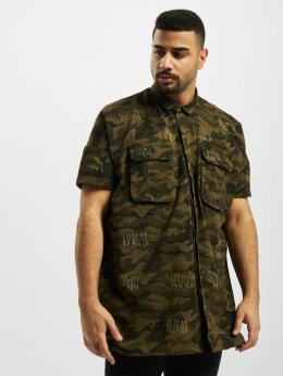 Sixth June Shirt Destroyed Oversize camouflage