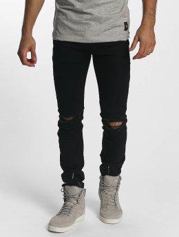 Sixth June Skinny Jeans Skinny Destroyed black