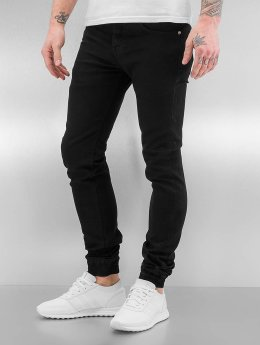 Sixth June Skinny Jeans Basic schwarz