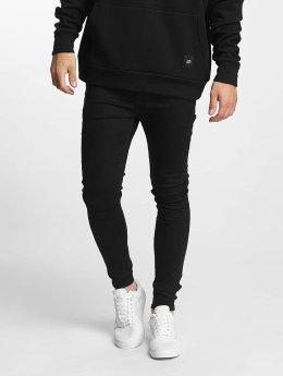Sixth June Männer Skinny Jeans Basic Super in schwarz