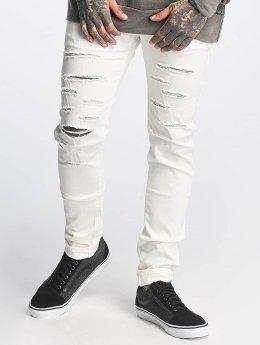 Sixth June Slim Fit -farkut Basic valkoinen