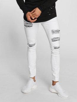 Sixth June Slim Fit Jeans Hudson bianco