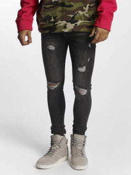 Sixth June Slim Fit Jeans Classic grijs
