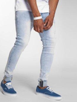Sixth June Slim Fit Jeans Ornelio  modrý