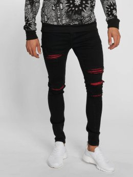 Sixth June Slim Fit Jeans Hudson  svart