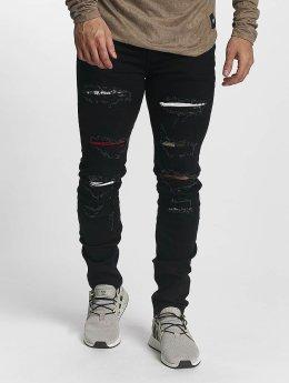 Sixth June Slim Fit Jeans basic Slimfit zwart