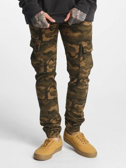 Sixth June Spodnie Chino/Cargo Denim Cargo moro