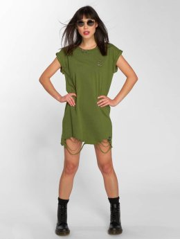 Sixth June Sukienki Dress khaki