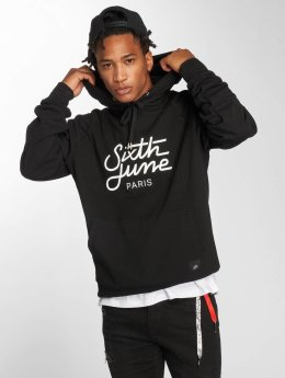 Sixth June Sweat capuche Classic Oversize noir