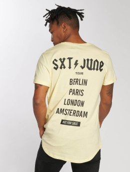 Sixth June t-shirt Crew geel