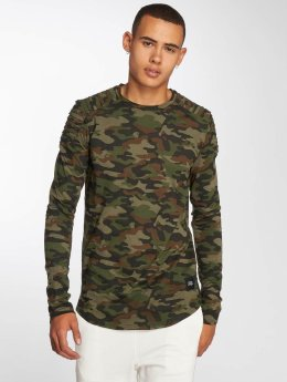 Sixth June T-Shirt manches longues Biker camouflage