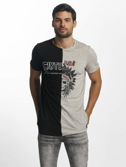 Sixth June T-Shirt Assymetric noir