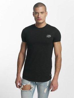 Sixth June Skinny Round Bottom T-Shirt Black