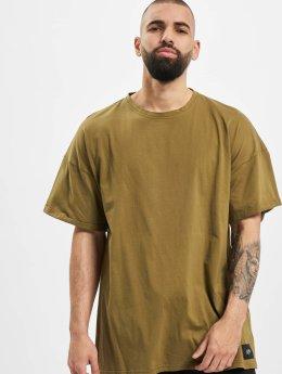 Sixth June T-shirts DropShoulder  khaki