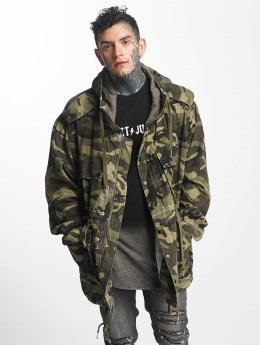 Sixth June Ulkotakit Light Parka camouflage