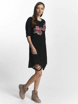 Sixth June Vestido Destroyed Roses negro
