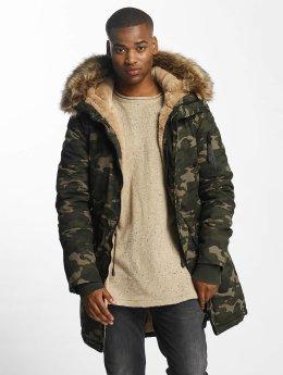 Sixth June Winter Jacket Fur camouflage