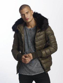 Sixth June Winter Jacket Regular Fit Puffa khaki