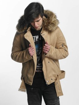 Sixth June Winterjacke Puffa Perfecto beige