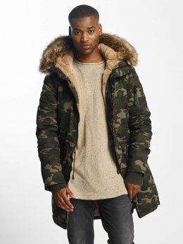 Sixth June Winterjacke Fur camouflage