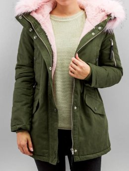 Sixth June Winterjacke Fake khaki