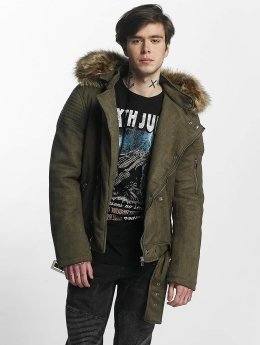 Sixth June Winterjacke Puffa Perfecto khaki