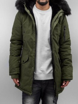 Sixth June Winterjacke Fur olive
