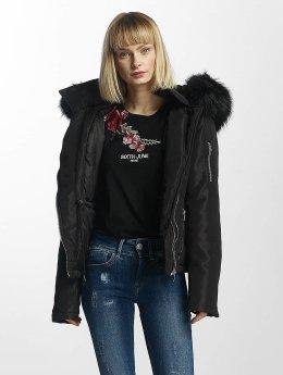 Sixth June Winterjacke Winter Fur schwarz