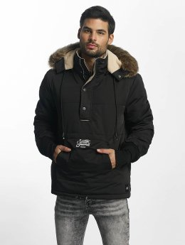 Sixth June Winterjacke Classic Oversized Rain schwarz