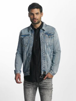 Sixth June Zomerjas Denim Oversized blauw