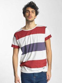 Sky Rebel Camiseta Stripes blanco
